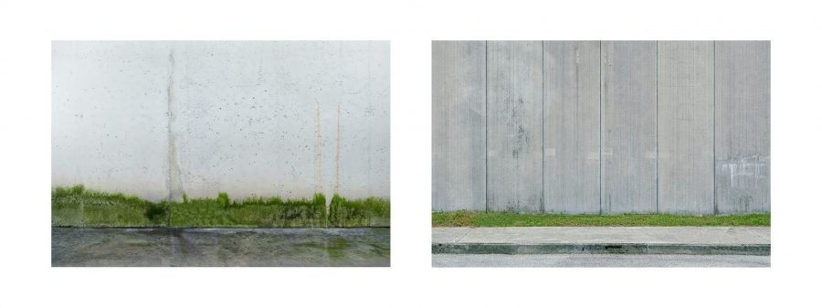 """Installazione, Spazio #8826 e Spazio #9251, 2020. Serie """"C'è SPAZIO per tutti"""". Fotografie digitali, stampe Fine art realizzate da Stefano Ciol, 50 x 75cm each"""